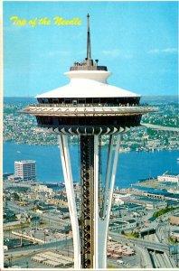 Washington Seattle Top Of The Space Needle 1986