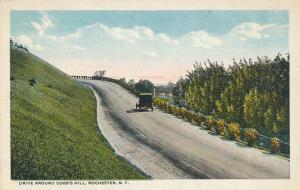 The Drive Around Cobb's Hill, Rochester, New York - WB