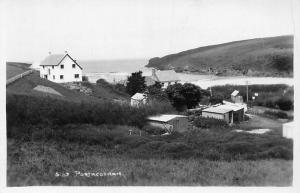 Porthcothan Village General view Cornwall