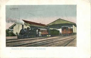 venezuela, PUERTO CABELLO, Estación del Ferrocarril, Railway Station (1899)