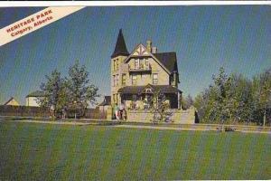 Canada Alberta Calgary Heritage Park Prince House