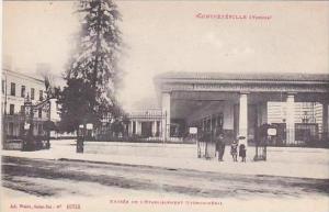 France Contrexeville Vosges Entree De L'Etablissement Hydromineral