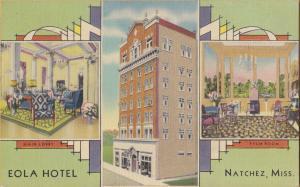 Natchez, Miss., 1940 - Eola Hotel