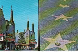 California Hollywood Grauman's Chinese Theatre & Sidewalk Of The Stars