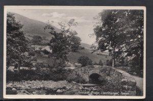 Wales Postcard - Pennant Bridge, Llanfihangel, Towyn  HM646