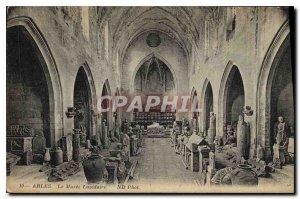 Postcard Ancient Arles Museum Lapidary