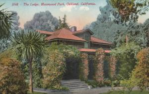 OAKLAND, California, 1915; The Lodge, Mosswood Park
