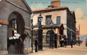London, Whitehall, Entrance, The Horse Guards, Horse