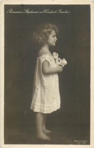 Princess Stephanie of Windisch-Graetz daughter of Prince Otto & Elisabeth Marie