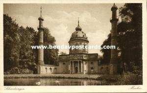germany, SCHWETZINGEN, Mosque in the Castle Garden, Islam (1920s)