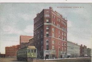 New York Utica Mann Building