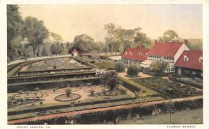 MOUNT VERNON, VA Virginia  PLANTATION HOME & GARDENS~Bird's Eye c1920's Postcard