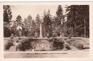 RP: PORTLAND , Oregon , 1930s-40s ;  Washington Park