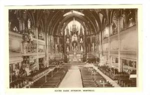 RP; Notre Dame Interior, Montreal, Quebec, Canada, 10-20s