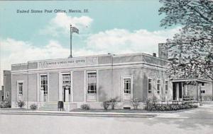 Illinois Herrin Post Office Curteich