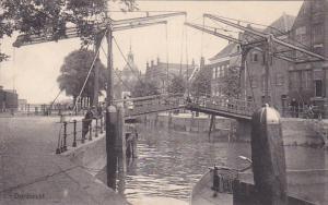 DORDRECHT, Canal & Bridge, South Holland, Netherlands, 00-10s