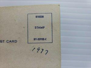 Vintage Postcard Disneyland 1977 Pluto California unposted    389