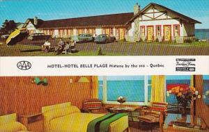 Canada Quebec Matane By The Sea Motel-Hotel Belle Plage