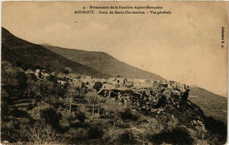 CPA AK MAROC AOUNOUT - Zouia de Benin-Ourimeches. Vue générale (219073)