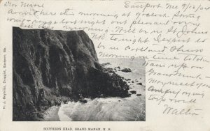 GRAND MANAN , New Brunswick , Canada, 1904 ; Southern Head