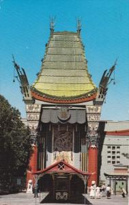 Grauman's Chinese Theatre, Hollywood, Los Angeles, California, 1975 PU
