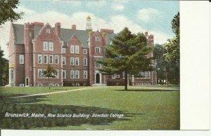 Brunswick, Me., New Science Building, Bowdoin College