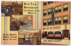 Bon Ton Restaurant, Keene NH