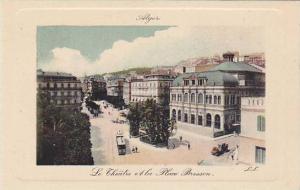 Le Theatre Et La Place Bresson, Alger, Algeria, Africa, 1900-1910s