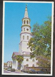 St Michael's Church Charleston SC Postcard BIN