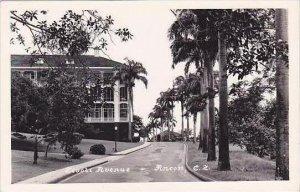Panama Ancon Tivoli Avenue RPPC