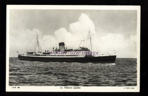 f1440 - Isle of Man Ferry - Mona's Queen - postcard