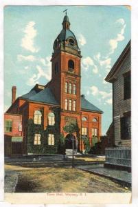 Town Hall, Warren, Rhode Island, PU-1908