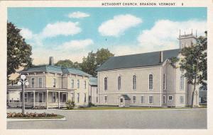 BRANDON, Vermont, 1900-1910's; Methodist Church