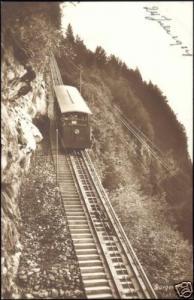 swiss, Bürgenstockbahn, Standseilbahn, Funicolar, TRAIN