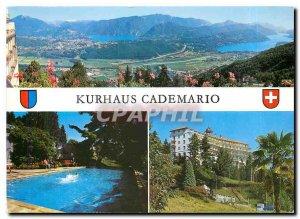 Modern Postcard Kurhaus Cademario Casa di Cura Ti