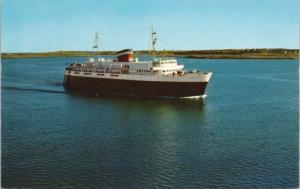 MV Bluenose Ferry Yarmouth Nova Scotia NS to Bar Harbor Maine ME Postcard E27