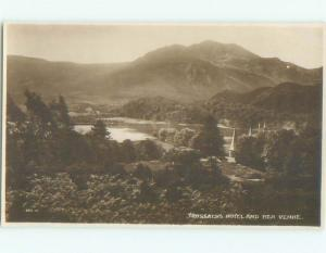 old rppc NICE VIEW Trossachs - Stirling - Scotland UK i1880