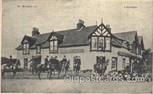 St. Michael Inn Hunting Postcard Postcards St. Michael Hotel Writing On Back