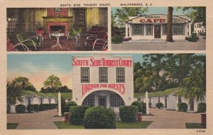 South Carolina Walterboro South Side Tourist Court & Cafe U S Highway 17 sk767