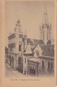 DIJON, L´Eglise Notre-Dame, Cote d´Or, France, 10-20s