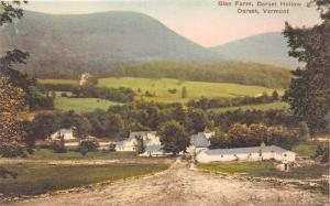 19629 Aerial View of Glen Farm, Dorset Hollow Dorest VT