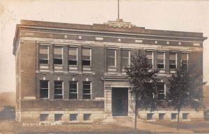 Monaca Pennsylvania Public School Real Photo Antique Postcard J50082