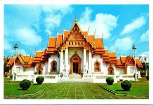 Thailand Bangkok Wat Benchamabophitr Marble Temple