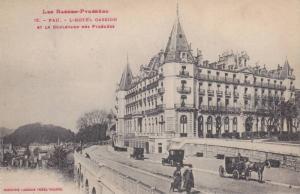 PAU, L'Hotel Gassion et le Boulevard des Pyrenees-Atlantiques, France, 00-10s