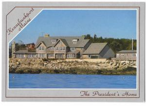 Summer Home of George Walker Bush 41st President Kennabunkport Maine 4 by 6 card