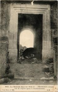 CPA La Grande Guerre 1914-15 - Fromezey Vue de l'Eglise (255012)