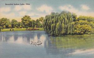 Beautiful Indiana Lake Ohio 1945