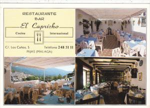 Restaurante Bar El Capricho Mijas Malaga Spain
