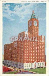 Postcard Old American Furniture Mart Chicago