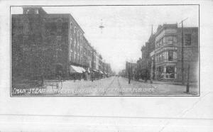 Lockhaven Pennsylvania Main Street Scene Historic Bldgs Antique Postcard K49643